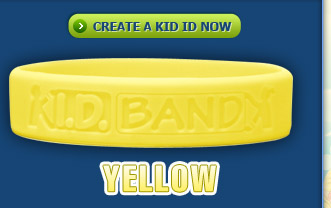 Kid ID Band Yellow
