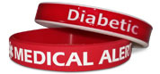 Medical Alert Wristbands