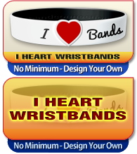 i heart wristbands