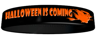 Halloween Color-core Wristbands