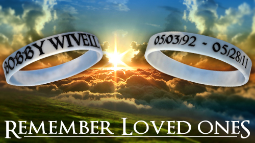 Our Color Filled Remembrance Bands Can Be Made In About A Week And Will Last For Years Please Feel Free To Call With Personalized Help When Making These